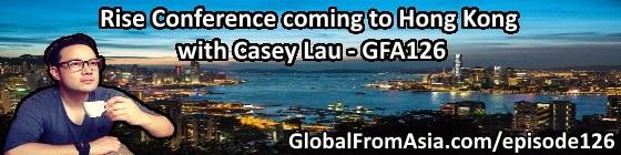 Casey Lau Rise Conference